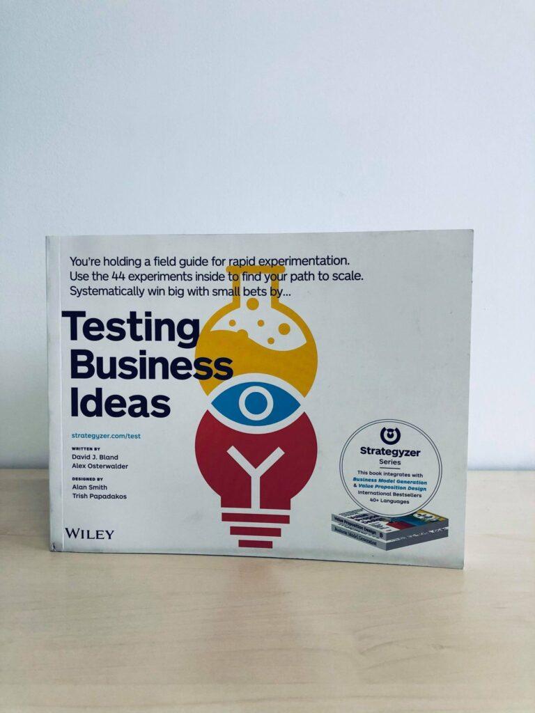 Livres de Marketing Digital :  Testing Business Ideas