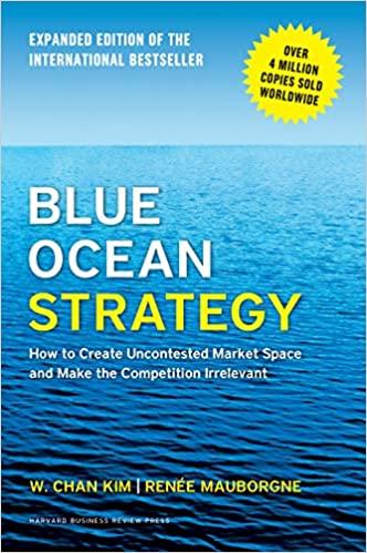 Livres de Marketing Digital :  Blue Ocean Strategy