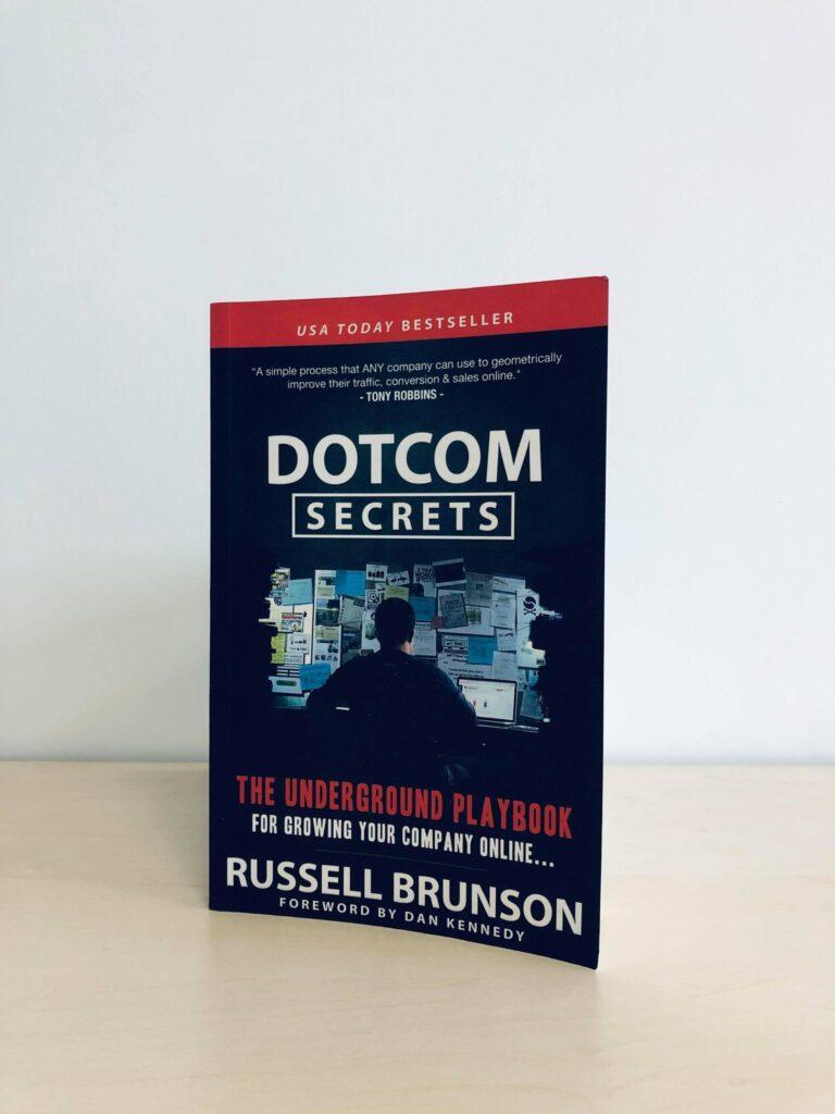 Livres de Marketing Digital :  Dotcom Secret